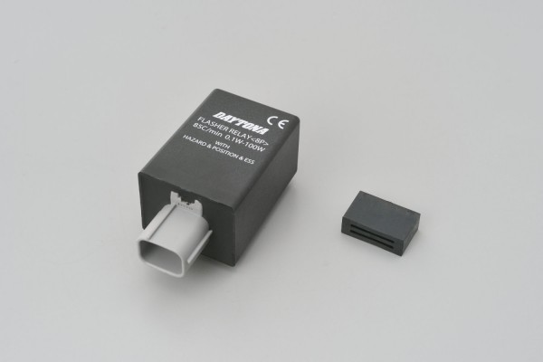 IC flasher relay 8P HONDA f. LED & bulb 12V