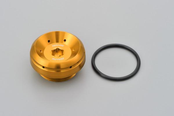 """BULLET"" Oil filler cap M30 x P1.5 gold"