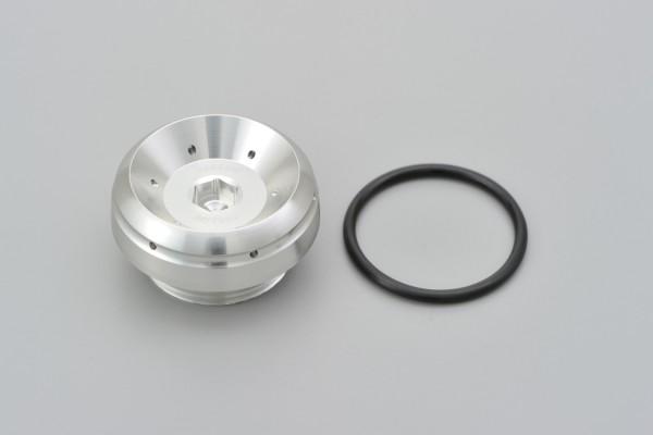 """BULLET"" Oil filler cap M30 x P1.5 silver"