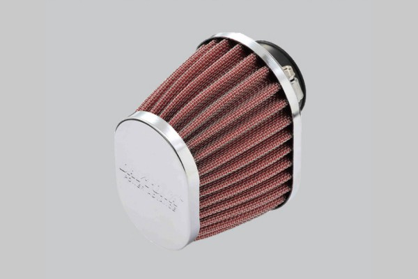"""""""POWER ADVANCE"""" Universal air filter 35mm oval / straight type"""